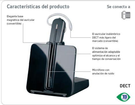 CS540 caracteristicas del producto