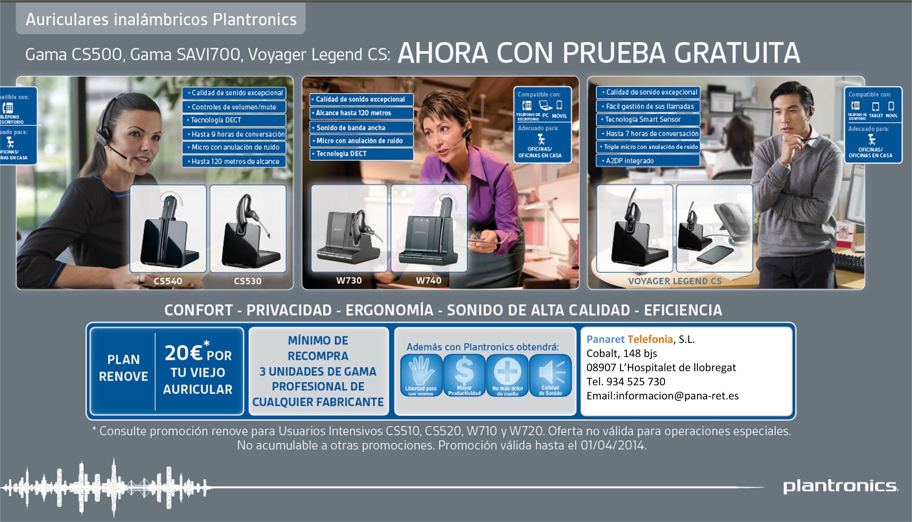 Campaña Plantronics diciembre 2013