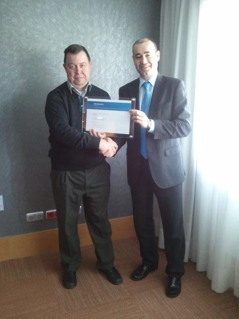 Certificat distribuidor premium 2014