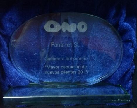 Premio ONO 2013