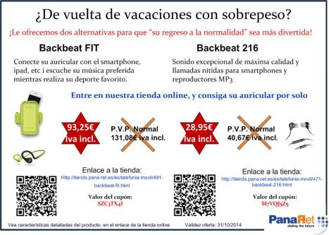 Oferta Backbeat Fit & 216